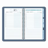 The Action Planner Daily Appointment Book, 4-3/4 x 8, Black, 2013