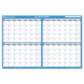 90-/120-Day Format Reversible/Erasable Undated Wall Planner, 36 x 24, 2013