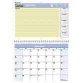 "Monthly Academic Desk/Wall Calendar, 16 Month Sep-Dec, 11""x8"", 2013"
