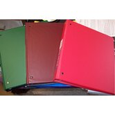 Durable EZ-Turn Ring Reference Binder, 8-1/2 x 11, 1in Cap, Burgundy