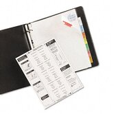 Worksaver Big Tab Extrawide Dividers with Eight Multcolor Tabs, 9 x 11, White