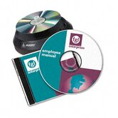 CD/DVD Design Kit, 30 Laser Labels and 8 Inserts
