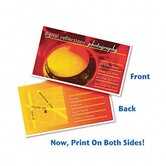 Inkjet Matte Business Cards, 2 x 3-1/2, White, 10 per Sheet, 200 Cards per Pack