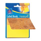 "Label Book, Circles, 80/PK, OE 1""X3"" NEOE/ 2""X3"" NEYW"