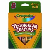 Triangular Crayons (8/Box)