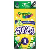 Washable Fine Point Markers (8/Pack)