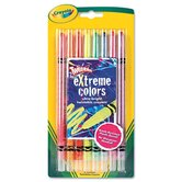 Twistable Crayons (8 Neon Colors/Set)