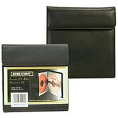 Premium Leather CD DVD Holder Portable Case