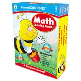 Math Learning Games, 4 Game Boards, 2-4 Players, Grade 2
