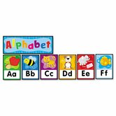 Quick Stick Bulletin Board Set, Alphabet