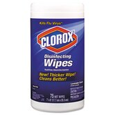 Disinfectant Wipes, Cloth, Lavender, 75 Wipes/Canister