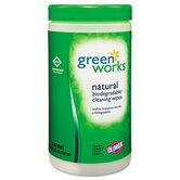 Natural Wipes, Plant Fiber, 62/Canister