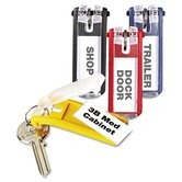 Key Tags for Locking Key Cabinets, Plastic, 24/Pack