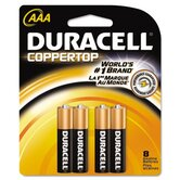 Coppertop Alkaline Batteries withith Duralock Power Preserve Technology, Aaa, 10/Pack