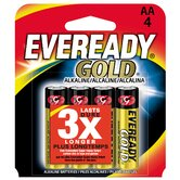AA Cell Alkaline Battery (4 Pack)
