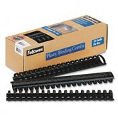 Plastic Comb Bindings, 340 Sheet Capacity, 10 Combs/Pack