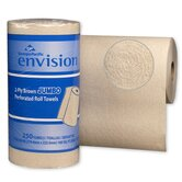 Envision High-Capacity Perforated Kitchen Roll Towel in Brown