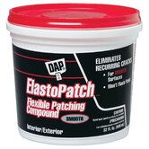 1 Quart White Elastomeric Patch & Caulking Compound 12278
