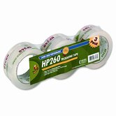 "Carton Sealing Tape 2"" x 60 Yards, 3"" Core, Clear, Three per Pack"