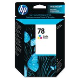 C6578DN (HP78) Inkjet Cartridge, Tri-Color (Cyan, Magenta, Yellow)