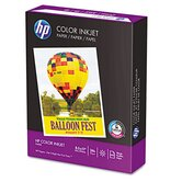 Color Inkjet Paper, 96 Brightness, 24lb, Letter, 500 Sheets