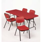 IndestrucTable TOO 1200 Series 96&quot; Adjustable Folding Table