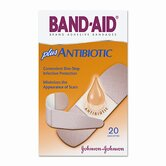 Antibiotic Adhesive Bandages, Assorted Sizes, 20 per Box