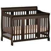 Tuscany 4 in 1 Convertible Crib in Black