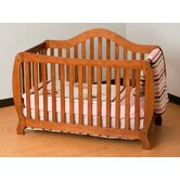 Monza Fixed Side Convertible Crib in Oak