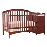 Bradford 4 in 1 Fixed Side Convertible Crib Changer