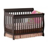 Modena Fixed Side 4-in-1 Convertible Crib