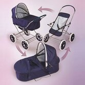 Just Like Mommy 3-in-1 Doll Pram Stroller
