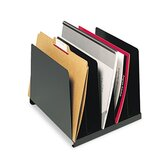 Steelmaster Angled Vertical Organizer, Five Sections