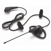D-Ring Earpiece with Lightweight Boom Mic (VOX capable) for use with CLS, RDX, DTR Series