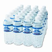 Bottled Spring Water, 1/2-Liter Size, 24 Bottles/Carton