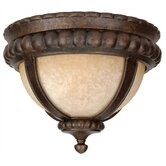 Prescott  Outdoor Flush Mount in Peruvian