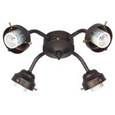 Four Light Ceiling Fan Light Kit
