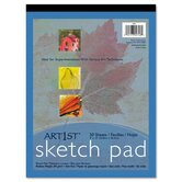 Art1St Sketch Pad, 60-Lbs, 50 Sheets/Pad