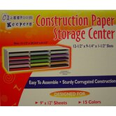 Construction Paper Storage