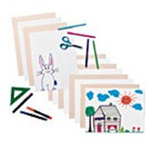 Tag Sheets White 9 X 12
