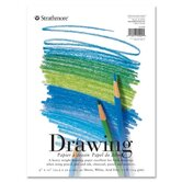 "Strathmore Drawing Pads, 70 lb., 9""x12"", 40 Sheets"