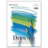 "Strathmore Drawing Pads, 70 lb., 11""x14"", 40 Sheets"
