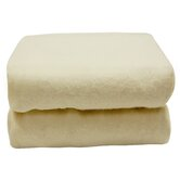 Tadpoles Organics Portacrib Fitted Sheets in Natural (Set of 2)