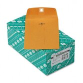 Clasp Envelope, 5 x 7 1/2, 28lb, Light Brown, 100/box