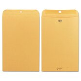 Clasp Envelope, 10 x 15, 28lb, Light Brown, 100/box