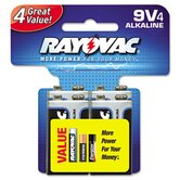 Alkaline Battery, 4/Pack