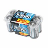 C Alkaline Battery, 8/Pack
