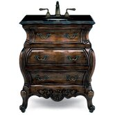 Premier Collection Lorraine 30&quot; Bath Vanity Set in Aged Chestnut