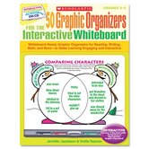 Graphic Organizers for Interactive Whiteboard, Grades 2-5, 112 pgs, CD