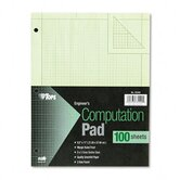 Engineering Computation Pad, Quad Rule, Letter, 100 Sheets/Pad